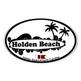 "Holden Beach NC ""Surf"" Design Decal"