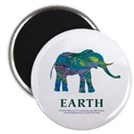 Earth Element Elephant Magnet