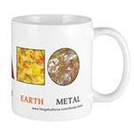 Five Eastern Elements Shapes Elixir Mug