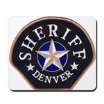 Denver Sheriff Mousepad