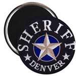 Denver Sheriff Magnet