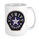 Denver Sheriff Large Mug