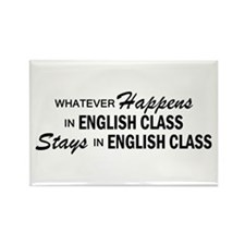 Whatever Happens - English Class Rectangle Magnet