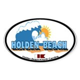 "Holden Beach NC ""Waves"" Design Decal"