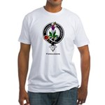 Fergusson Clan Crest Badge Fitted T-Shirt