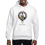 Fergusson Clan Crest Badge Hooded Sweatshirt