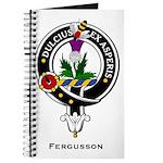 Fergusson Clan Crest Badge Journal