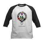 Fergusson Clan Crest Badge Kids Baseball Jersey