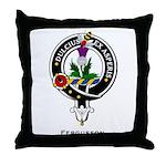 Fergusson Clan Crest Badge Throw Pillow