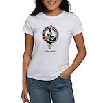 Fergusson Clan Crest Badge Women's T-Shirt