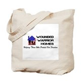 Wounded Warrior Homes Tote Bag