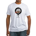 Duncan Clan Crest Badge Fitted T-Shirt