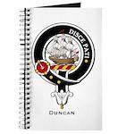 Duncan Clan Crest Badge Journal