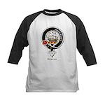 Duncan Clan Crest Badge Kids Baseball Jersey