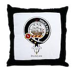 Duncan Clan Crest Badge Throw Pillow