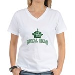 Metal Head Women's V-Neck T-Shirt