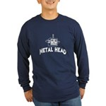 Metal Head Long Sleeve Dark T-Shirt