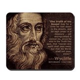 John Wycliffe - Christian Reformer (Mousepad)
