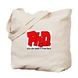 DOCTORATE Tote Bag