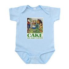 CAKE WILL MAKE IT BETTER Infant Bodysuit