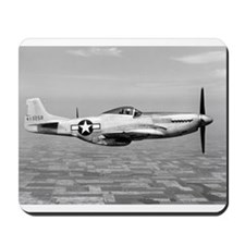 P-51 In Flight Mousepad