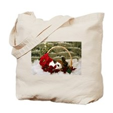 Cute Rabbit christmas Tote Bag