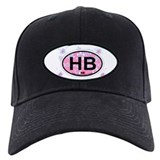 Holden Beach NC - Oval Design Baseball Hat