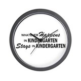Whatever Happens - Kindergarten Wall Clock