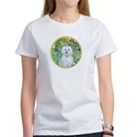 Irises / Maltaese (B) Women's T-Shirt
