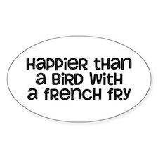 Happier Bird Stickers