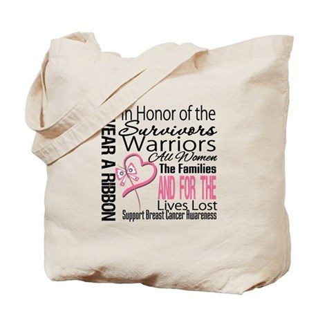 Breast Cancer In Honor Tote Bag