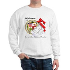 Los Angeles Parking Tickets Sweatshirt