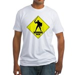 Warrior Online MMORPG Fitted T-Shirt