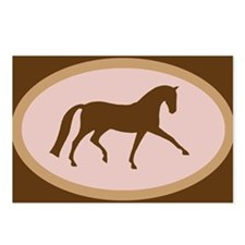 dressage horse Postcards (Package of 8)