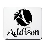 Addison Grunge Mousepad