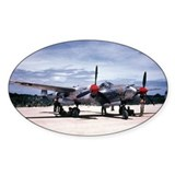PTO - P-38 Oval Decal