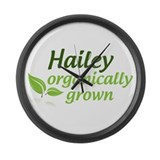 organic hailey Large Wall Clock