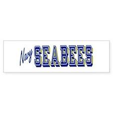 Bumper Sticker Navy Seabees