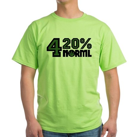 420 Percent Green T-Shirt