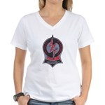 Fitchburg Police SRT Women's V-Neck T-Shirt