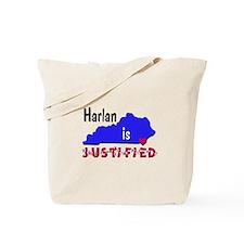 Harlan is Justified Tote Bag