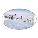 B-17 Formation Oval Decal