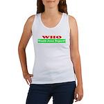 Who Would Jesus Deport Women's Tank Top