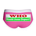 Who Would Jesus Deport Women's Boy Brief