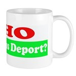 Who Would Jesus Deport Mug