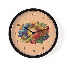 FRUIT BUNCH-Wall Clock