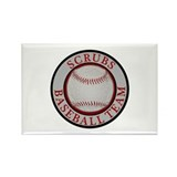 Scrubs Baseball Team Rectangle Magnet (100 pack)