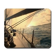 Sunset Sailing Mousepad