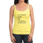 Fill In The Blanks Preggo Tee Jr. Spaghetti Tank