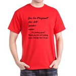 Fill In The Blanks Preggo Tee Dark T-Shirt